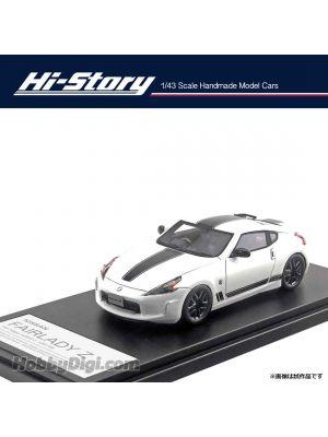 Hi-Story 1:43 Hand Made Resin Model Car - Fairlady Z Heritage Edn 2018 White
