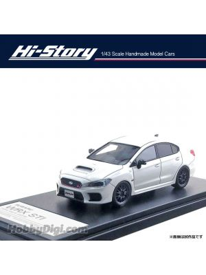 Hi-Story 1:43 Hand Made Resin Model Car - Subaru WRX STI RA-R 2018 White