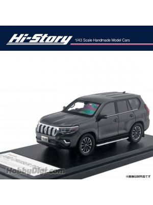 Hi-Story 1:43 Hand Made Resin Model Car - Land Cruiser Prado TZ-G 2019 Grey met.