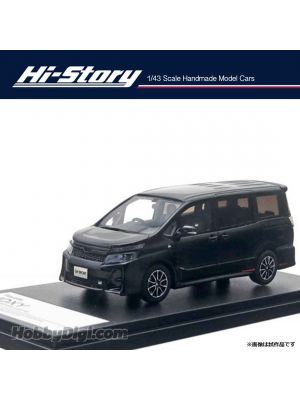 Hi-Story 1:43 Hand Made Resin Model Car - Toyota VOXY ZS GR SPORTS (2019) Black