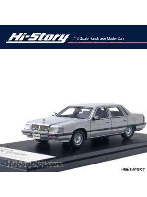 Hi-Story 1:43 Hand Made Resin Model Car - Mitsubishi Debonair V 3000 Royal 1987 Silver