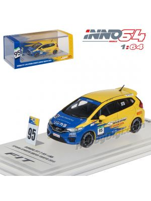 INNO64 1:64 Diecast Model Car - Honda Fit 3 RS GK5 #95 Team Spoon Sports Super Taikyu 2015