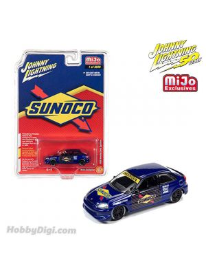 Johnny Lightning 1:64 MiJo Exclusives 合金車 - 50th Anniversary - 1998 Honda Civic Custom Sunoco Livery (Limited 3,600)