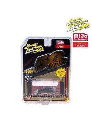 Johnny Lightning 1:64 MiJo Exclusives Diecast Model Car - Johnny Lightning 50th Anniversary 1991 Honda CRX