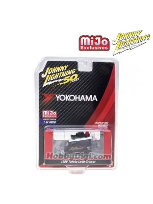 Johnny Lightning 1:64 MiJo Exclusives 合金車 - 50th Anniversary - Toyota FJ40 Land Cruiser Yokohama Geolandar (Limited 4,800)