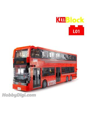 KMBlock L01 - E500 MMC 模型巴士 Facelift Red (Large)