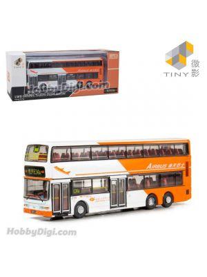 Tiny City 1:110 Diecast Model Car - LWB DENNIS Trident Duple MetSec Bus (E34A)
