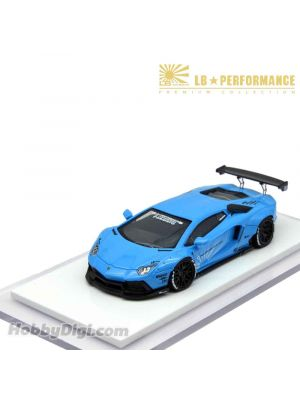 Premium Collection 1:64 樹脂模型車 - Liberty Walk LB Performance LB700 (Baby Blue)