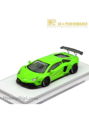 Premium Collection 1:64 樹脂模型車 - Liberty Walk LB Performance LB700 (Bright Green)