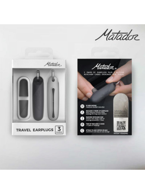 Matador Matador Travel Earplugs Kit 旅行耳塞 3對裝