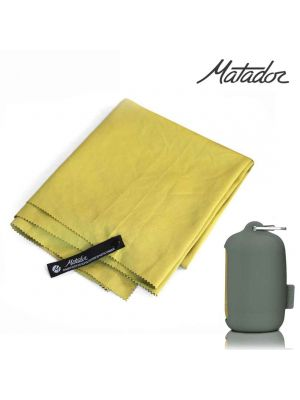 Matador NanoDry Shower Large Towel - Yellow