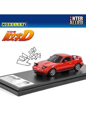 Modelers 頭文字D 1:43 樹脂模型車- Mazda NA Roadster 末次徹