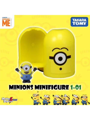 Takara Tomy Palycolle Figure - Minions Vol.1 (Normal 01)