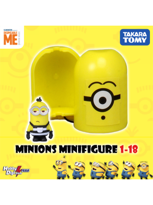 Takara Tomy Palycolle Figure - Minions Vol.1 (Rare 18)