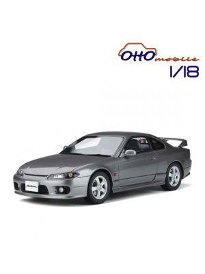 OttO Mobile 1:18 樹脂模型車 - Nissan Silvia spec–R AERO (S15) Sparkling Silver