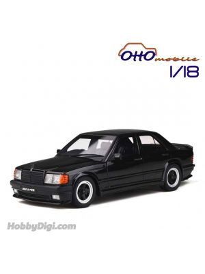 OttO Mobile 1:18 樹脂模型車 - Mercedes-Benz 190E 2.3 AMG Black (Limited 2000 pcs)