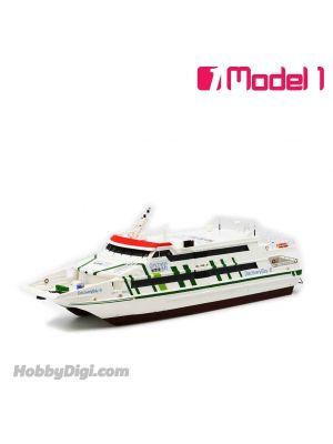 Model 1 1:250 樹脂模型船 - 愉景灣 Marinteknik CPV 42 雙體船 - 愉景灣8
