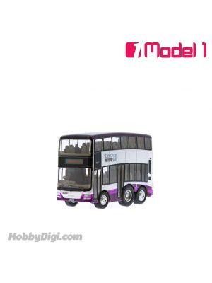 Model 1 Q版回力巴士 - 愉景灣 猛獅 A95 12米 - DBAY217 路線 DB01R 愉景灣遊艇徑