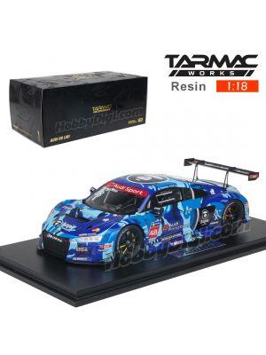 Tarmac Works 1:18 Resin Model Car - Audi R8 LMS 2016 R8 LMS Cup Sepang Winner AAPE / Audi HK