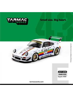 Tarmac Works 1:43 Diecast Model Car - RWB 930 - Apple #89