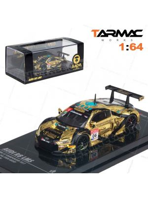 Tarmac Works HOBBY64 模型車 - Audi R8 LMS AAPE #6 China GT Champ 2017