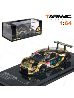 Tarmac Works HOBBY64 模型車 - Audi R8 LMS AAPE #16 China GT Champ 2017