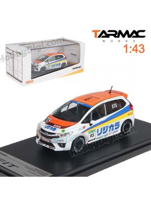 Tarmac Works 1:43 限量版模型車 - Honda Fit3 RS Spoon/TYPEONE Super Taikyu 2014