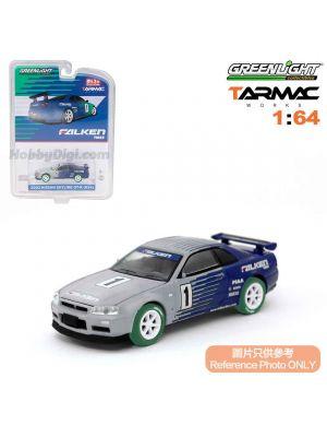 Greenlight 1:64 限量版合金車 - Tokyo Torque S1 Nissan Skyline GT-R R34 M-Spec Silica Breath