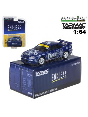 Tarmac X Greenlight 1:64 模型車 - Nissan Skyline GT-R R34 Endless