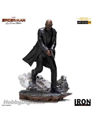 Iron Studios BDS Art Scale 1/10- Spider- Man: Far From Home Nick Fury