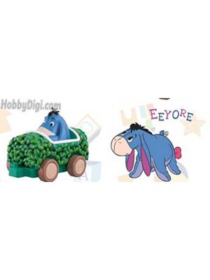 Sentinel Winnie the Pooh Spinning Car Collection: Eeyore