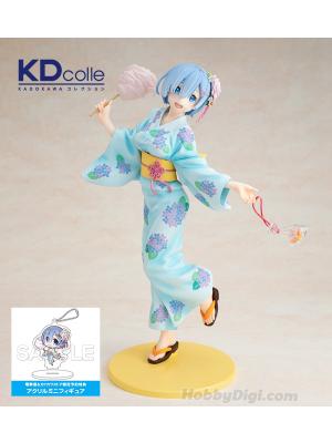 Kadokawa 角川 KDcolle 1/7 PVC模型 - Re:從零開始的異世界生活 雷姆(浴衣Ver.)(特典版)