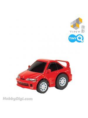 Tiny Q Pull Back Diecast Model Car - Honda Integra DC2 (Red)