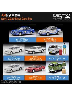TOMYTEC Tomica Limited Vintage NEO Diecast Model Car - April 2020 New Cars Set of 8