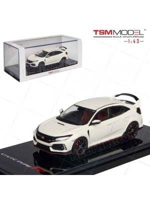 TSM Model 1:43 合金模型車 - Honda Civic Type R Championship White RHD