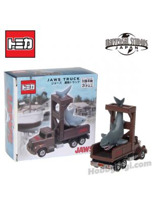 Tomica Universal Studios Japan Limited Edition Diecast Model Car - Jaws Truck Shark