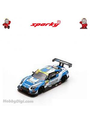 Sparky 1:64 Diecast Model Car - Nissan GT-R Nismo GT3 No.35 KCMG - FIA GT World Cup Macau 2018 - Oliver Jarvis