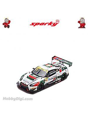 Sparky 1:64 合金模型車 - Nissan GT-R Nismo GT3 No.23 KCMG -  FIA GT World Cup Macau 2018 -  Tsugio Matsuda