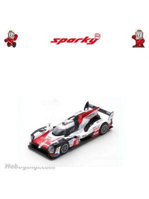 Sparky 1:64 合金模型車 - TOYOTA TS050 Hybrid No.7 TOYOTA GAZOO Racing - 2nd 24H Le Mans 2018 (M. Conway - K. Kobayashi - J. M. López)