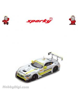 Sparky 1:64 Diecast Model Car - Mercedes - AMG GT3 No.48 Mercedes-AMG Team Driving Academy - Winner FIA GT World Cup Macau 2017 - Edoardo Mortara