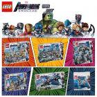 LEGO Marvel Superheroes: 《復仇者聯盟:終局之戰》電影套裝 共六件