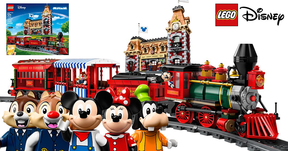 載著夢想與幻想的火車準備出發 - LEGO 樂高 Disney 71044 Disney Train and Station